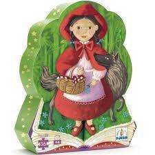 Puzzle Caperucita Roja de Djeco http://www.toystore.es/index.php/default/puzzle-silueta-hada-513.html