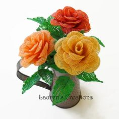French Beaded Roses | Flickr - Photo Sharing!