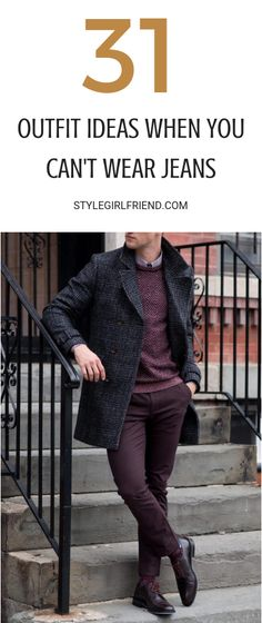 d5f6f3a648444 31 Outfit Ideas For Guys  When You Can t Wear Jeans