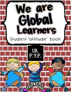 **FREE FOR FIRST 24 hours***Please leave a rating and feedback. I truly appreciate it. *******************************************************************International Baccalaureate IB attitude student interactive book. Students can customize this book to make their own by coloring in the cover, attitude, and writing or drawing how they demonstrate that attitude in the box provided on each page.