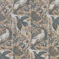 Doveflight by Mark Hearld 2 colour design, screen printed onto a heavyweight linen union for St Jude's Fabrics Pink Carpet, Black Carpet, Carpet Colors, Modern Carpet, Hallway Carpet Runners, Stair Runners, Textile Texture, Wall Carpet, Patterned Carpet