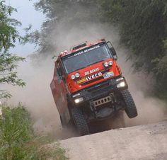 Hoogte punten Dakar Rally Iveco
