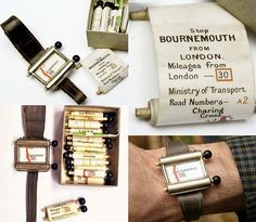 """The Plus Fours Routefinder. This manual """"navigator"""" resembled a clock . Route Finder, Plus Fours, The Jetsons, Latest Gadgets, Wooden Handles, Inventions, Creations, Concept, Modern"""