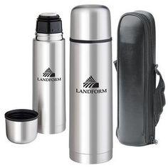 Stainless Steel Vacuum Bottle | Minimum order 100, $11.99 - $8.99 each