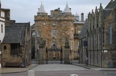 Holyrood Palace...was there in 2013...