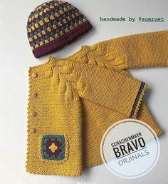 Visit the post for more. Baby Knitting Patterns, Knitting For Kids, Knitting Socks, Mode Crochet, Crochet Baby, Knit Crochet, Denim Jacke, Diy Bebe, Moda Emo