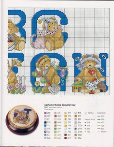 Gallery.ru / Фото #83 - Cross Stitch Teddies - KIM-2