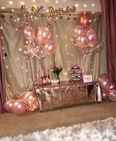 Birthday girl balloon backdrop Birthday girl balloon backdrop - New Site Birthday Goals, Birthday Party For Teens, 18th Birthday Party, Birthday Party Themes, Girl Birthday, Birthday Ideas, Birthday Month, Birthday Balloon Decorations, Balloon Birthday