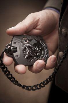 Orologio da taschino hi-tech.
