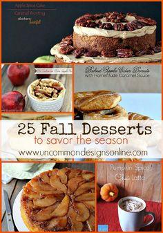25 Fall Desserts To Savor The Season