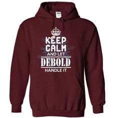 Personalised T-shirts It's a DEBOLD Thing Check more at http://cheap-t-shirts.com/its-a-debold-thing/