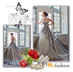 """Mafashion 20"" by selmina ❤ liked on Polyvore featuring Classique, bride, beautiful, weddingdress and mafashion"