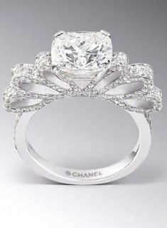 Chanel engagement ring,