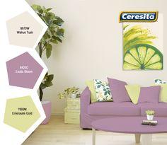 #CeresitaCL #PinturasCeresita #Color #Living #Pintura #Decoración #Hogar #Home #Deco #Tendencia #Estilo *Códigos de color sólo para uso referencial. Los colores podrían lucir diferentes, según calibrado de su monitor.