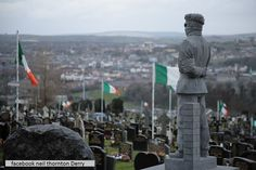1981 Derry Hungerstriker Patsy O Hara Headstone Derry City Cementry