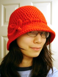 Eileen Tepper's Nubby Brim Cloche  Making this with the Minneapolis Purple