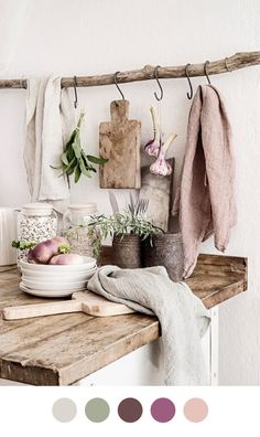 Rustic Kitchen — Color Collective