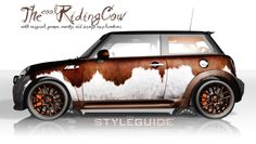 MINI Vollfolierung - The cool Riding Cow