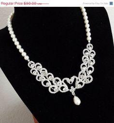 30 Sale ends Dec 31 Bridal Rhinestone by OliniBridalJewelry, $63.00