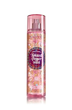 Twisted Peppermint - Fine Fragrance Mist - Signature Collection - Bath & Body Works - Lavishly splash or lightly spritz your favorite fragrance, either way you'll fall in love at first mist! Our carefully crafted bottle and sophisticated pump delivers great coverage while conditioning aloe mist nourishes skin for the lightest, most refreshing way to fragrance!