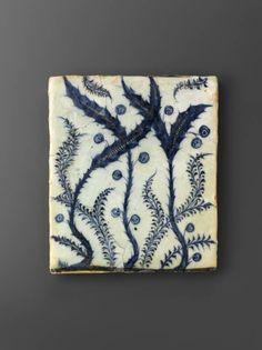 Ceramic tile - Blue and white