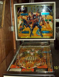 Kiss #pinball #flipper #music #band