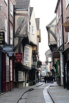 the Shambles, York, Yorkshire