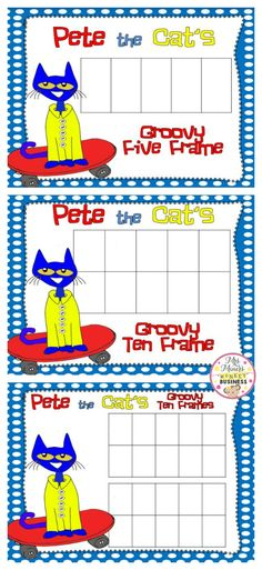 Everyone loves the adorable blue kitty, Pete the Cat. Who wouldn't… he is so carefree and so cool and so groovy, too!  When I know my students love something (in this case Pete), I take full on advantage of it. Since we are in the throws of adding and subtracting, Pete is going to get used …