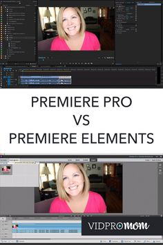 I have both Adobe Premiere Pro and Premiere Elements, and I've used both. As you (probably) know, I'm all about teaching you how to create and edit videos… so I