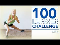 100 Lunges Challenge   MFit - YouTube