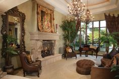 elegant tuscan decorating | ... Sophisticated Elegance and Family-Friendly Warmth | Elegant Residences