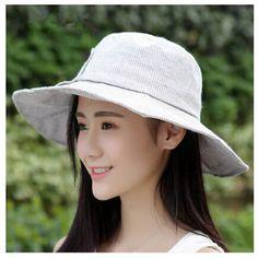 Large bow wide brim sun hat for summer ladies bucket hat UV