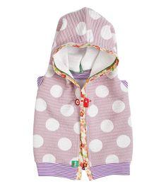 Spot On Shrug, Oishi-m Clothing for Kids, Spring 2018, www.oishi-m.com