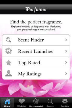 iPerfumer app by Givaudan