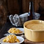 Beer Cheese Corn Spoon Bread & How To Throw a Craft Beer Thanksgiving