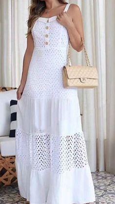 Big Girl Fashion, Womens Fashion, Ethenic Wear, Lace Dress, White Dress, Feminine Dress, Modern Outfits, Pretty Dresses, White Lace
