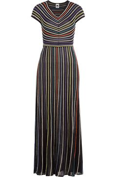 M MISSONI Striped Knit Dress. #mmissoni #cloth #cocktail & party