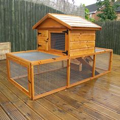 Diy Rabbit Hutch With Run Plans