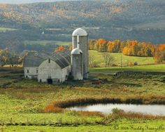 A Barn In Upstate New York