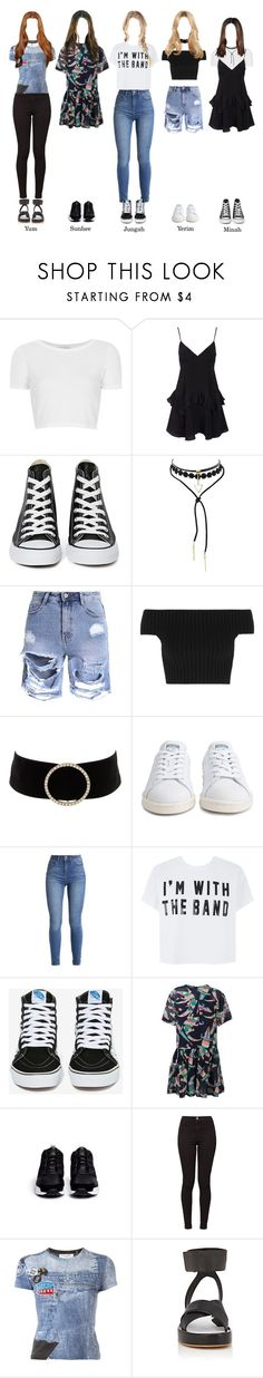"""SBS ""POWERFM YOUNGSTREET"" SOLAR"" by solarofficial ❤ liked on Polyvore featuring Topshop, Converse, Michael Kors, Charlotte Russe, adidas, Vans, MSGM, Reebok, American Apparel and Christian Dior"