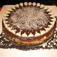Chocolate Cookie Cheesecake Allrecipes.com