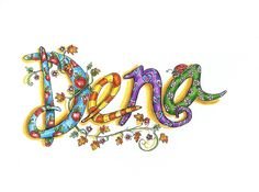 Name Art Alphabet Art, Letter Art, Types Of Lettering, Vinyl Lettering, Tangle Doodle, Doodle Art, Name Design Art, Name Art Projects, Name Drawings
