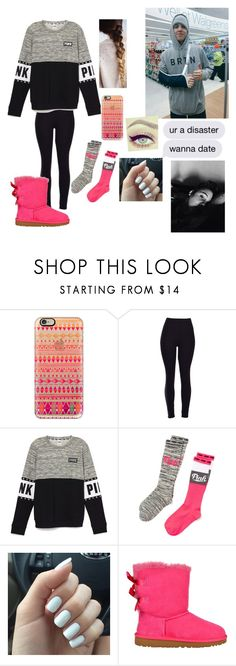 """""""matt espinosa imagine"""" by espinosa-dolans ❤ liked on Polyvore featuring Casetify, Victoria's Secret, UGG Australia, women's clothing, women, female, woman, misses and juniors"""