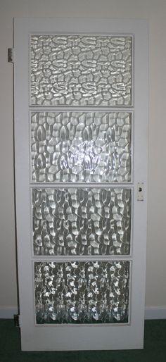 Primed 4 Panel Shaker Glazed Door To The Hall Way Doors Windows Outdoor Deco Pinterest