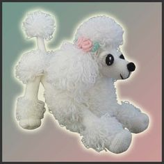 Super cute poodle amigurumi pattern. This shop (Delicious Crochet) has a ton of cute patterns, but this is my favourite. $6.20