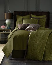 Michael Kors Devonshire Paisley Bed Linens, King