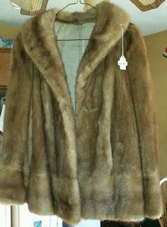 Vintage Panache Fur Coat Excellent Condition Size Small/Medium #Panache #fur