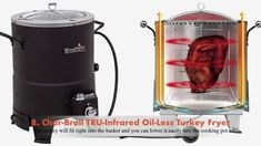 Best Deep Fryers Reviews and Guide : Best #DeepFryers Oil Less Turkey Fryer, Best Deep Fryer, Drip Coffee Maker, Canning, Coffee Making Machine, Home Canning, Conservation