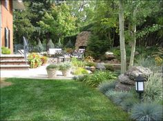 Hilly Backyard for Your Home Landscaping Ideas For A Sloped