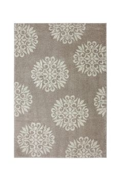 Exploded Medallions Rug - Sand Stone by Mohawk on @HauteLook